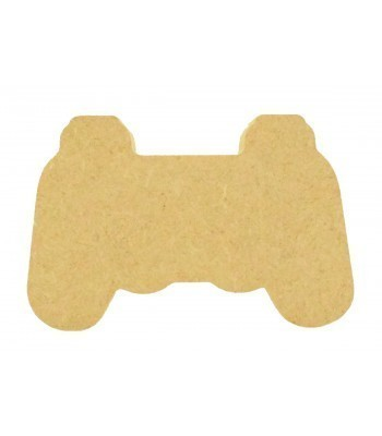 18mm Freestanding MDF Playstation Controller Shape